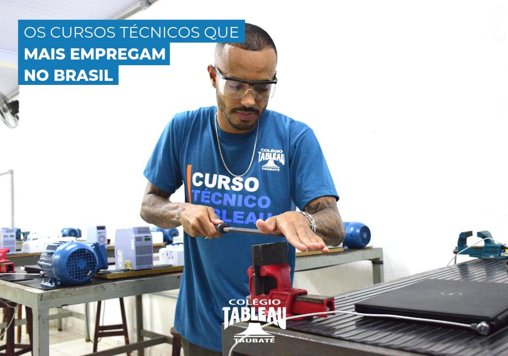 Os Cursos Técnicos que mais empregam no Brasil!
