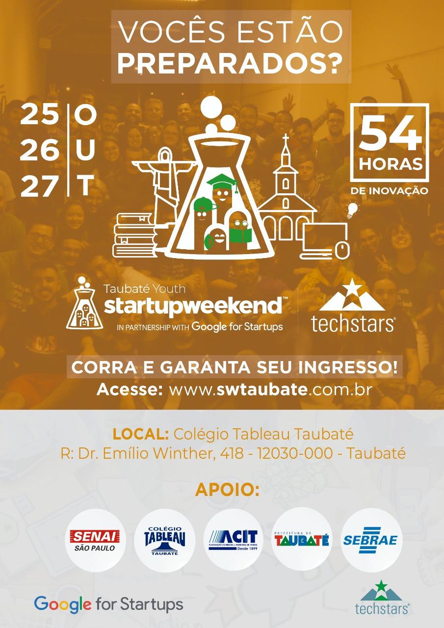startup weekend taubaté